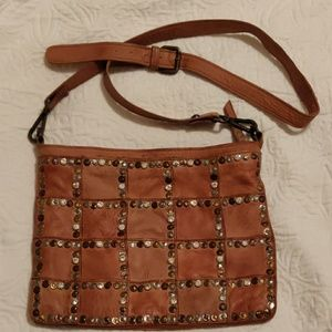 ✨Needs To Go✨Platania Studded Leather Crossbody